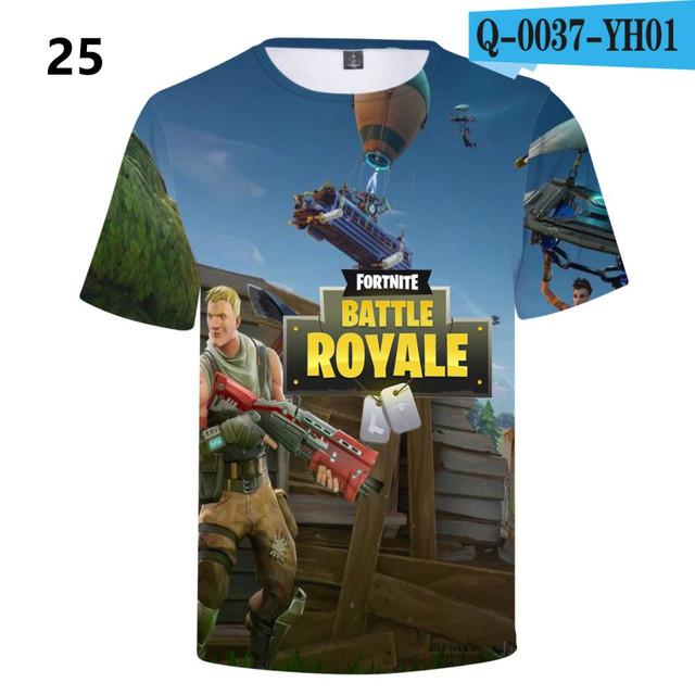 Battle-Royale-T-Shirts-Rainbow-Smash-Pony-Horse-Short-Sleeve-Tshirts-3-D-T-shirts-Boys-and-Q0037-YH0