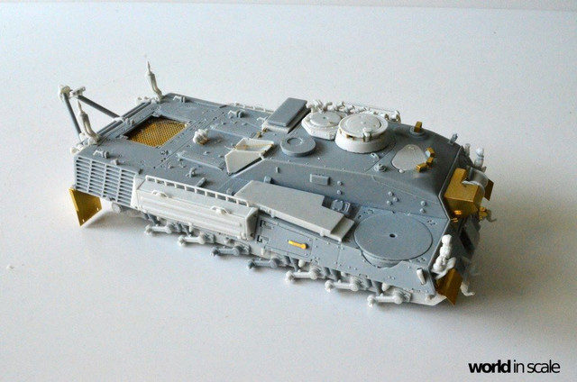 Bergepanzer WISENT - 1:35 of Perfect Scale 29339485_1011984992302349_8986220302300086272_o