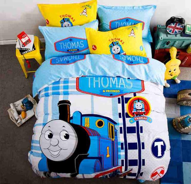 Thomas The Train Pillowcase Cool Thomas The Train Bedding Set Bed Comforter Toddler Boys Kids Sheets