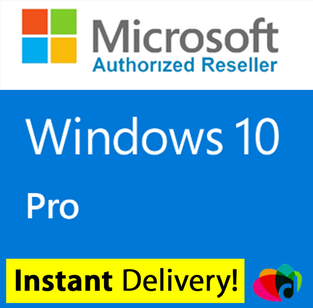 microsoft windows 10 pro license key instant delivery ebay. Black Bedroom Furniture Sets. Home Design Ideas