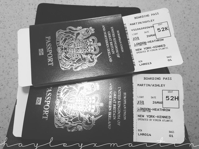 hayleyxmartin | Virgin Atlantic Ticket | UK Passport