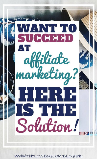want to secceed at affiliate marketing
