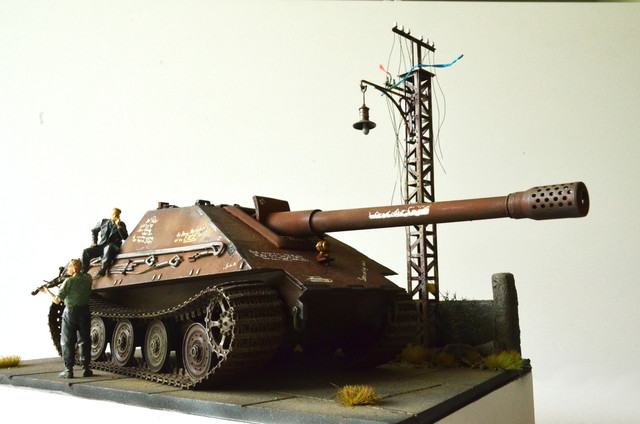 Jagdpanzer E-75 - 1:35 v. Trumpeter, Bolddivision DSC_2826