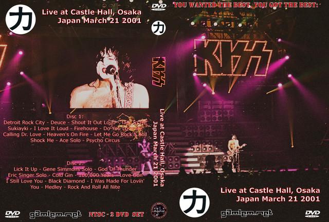 KISS - 2001-03-21 ~ Osaka, Japan 2 Disc - Guitars101 - Guitar Forums