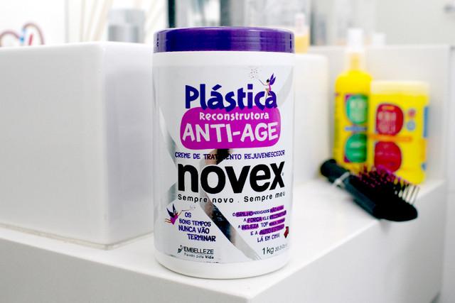 NOVEX PLASTICA CAPILAR ANTI AGE 1
