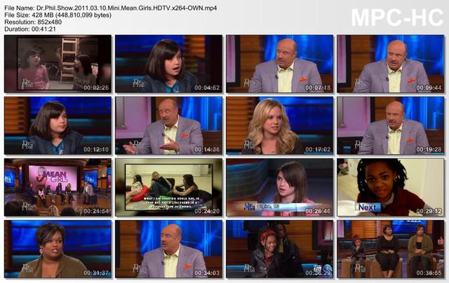 Dr Phil Show 2011 03 10 Mini Mean Girls HDTV x264-OWN mp4