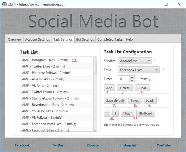 Bot Settings Guide - Dimension Bots
