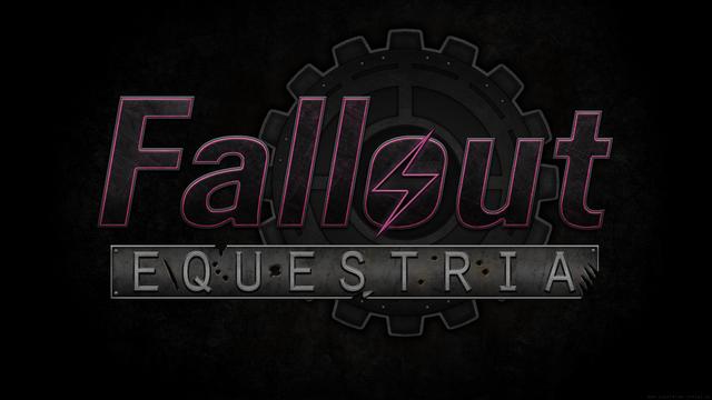 Fallout Equestria Logo Wallpaper by Lightning5trike 1