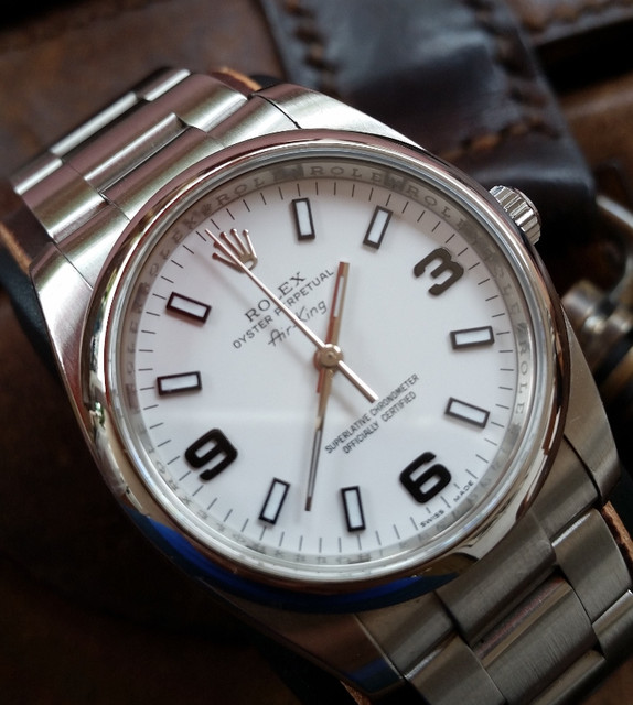Rolex- <P>Air-King-Oyster-Perpetual