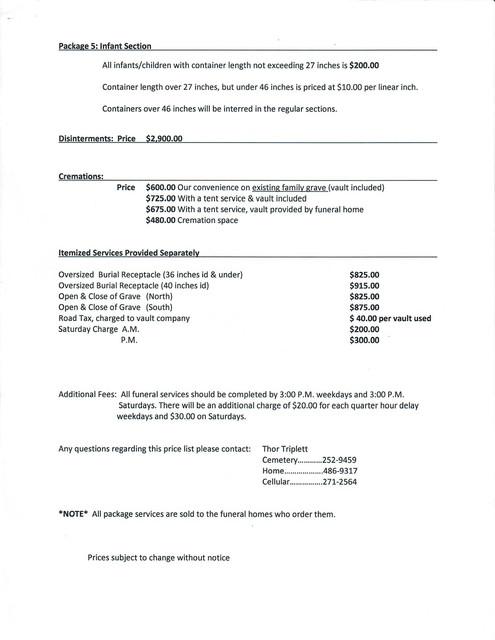 Eastlawn Cemetery Pricelist2017 P2 Scan 2