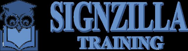Signzilla Training