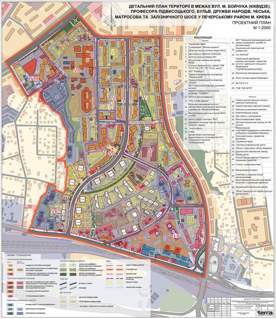 ДПТ Черной горы проектный план