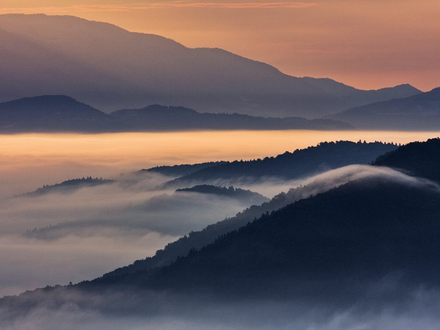 Ljubljana basin grmada hill tehovec slovenia