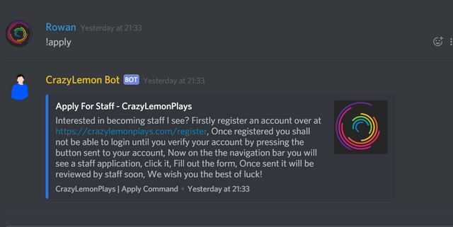 Does anyone know how to do this   Discord Bot Maker Forums