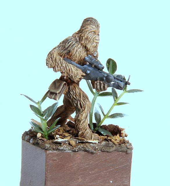 Grrrrooaaarr (Chewbacca 28mm) IMG-3348