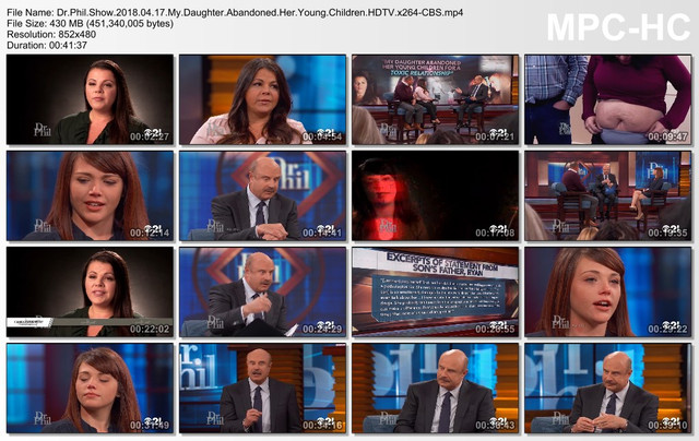 Dr Phil Show 2018 04 17 My Daughter Abandoned Her Young Children HDTV x264-CBS mp4