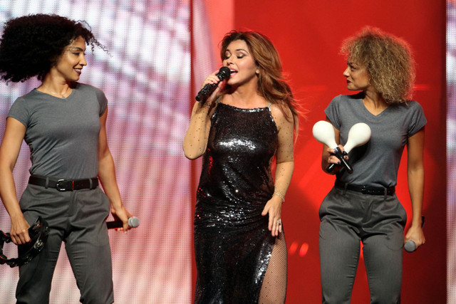 Shania Twain performs Monday June 4 2018 at Infinite Energy Arena on her Shania Now Tour Bastian Bak