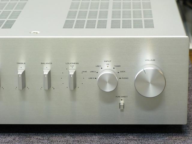 Yamaha AS-300 Integrated Stereo Amplifier, Speaker amp 01-26-15-e