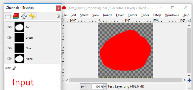 When resizing it's not using the first images bit depth  Is