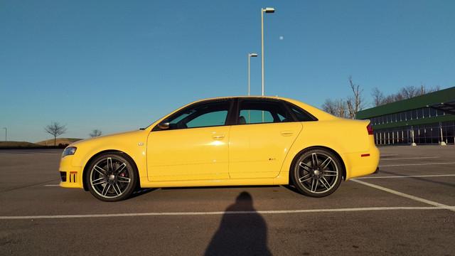 For Sale: 2008 Audi RS4 - Imola Yellow w/ Ti Pkg
