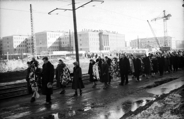 Dyatlov pass funerals 9 march 1959 10