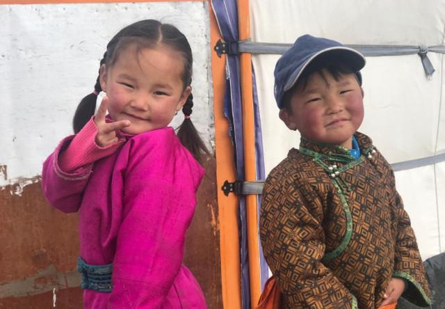 Megan, Becca, Diane & Lean in Mongolia
