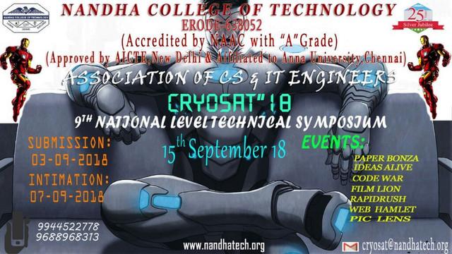 cryosat poster