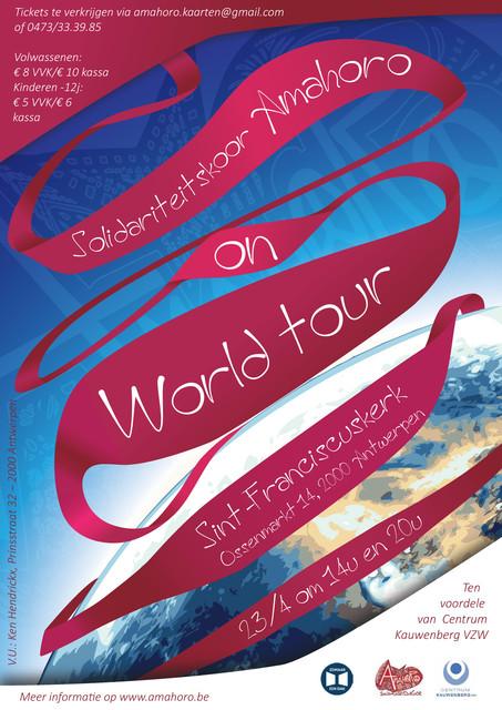 Amahoro On World Tour