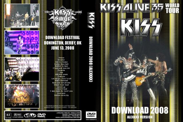 KISS - 2008-06-13 ~ Donington, UK Alexxxx Edition - Guitars101