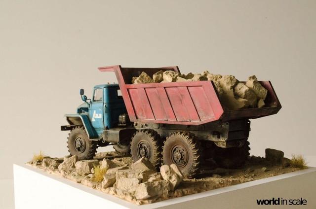 "Ural-4320 ""Dumper Truck"" - 1/35 by Trumpeter, Balaton Modell 25531872_960247367476112_4660030159543824541_o"