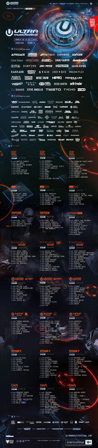 line up ultra music festival