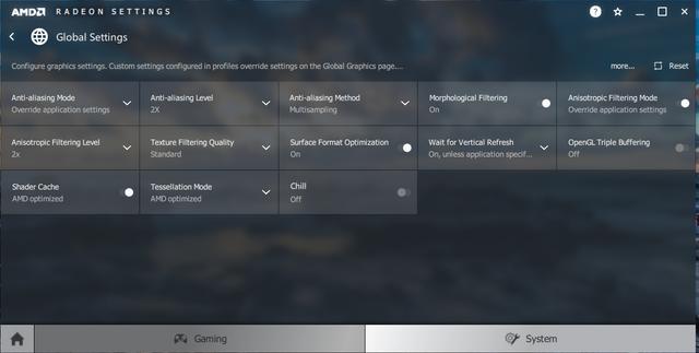 radeon settings 1