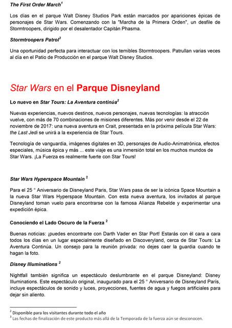 PR STAR WARS Temporada de la Fuerza 2