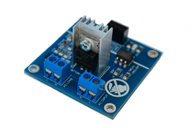 Ac led light dimmer module controller board arduino