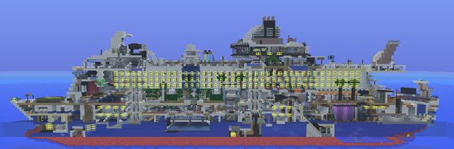 Integrity (Oasis of the Seas Remake) Minecraft Map