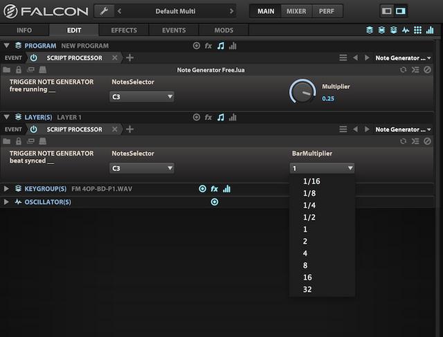 UVI Falcon - hybrid instrument - version 1 6 released - rumors