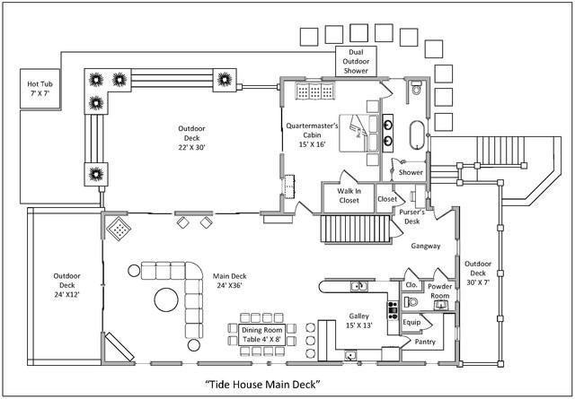 2017 05 24 Tide House Floor Plan Main Deck