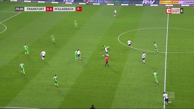 Eleven sports 4 hd eintracht frankfurt borussia m for Küchenstudio m nchengladbach