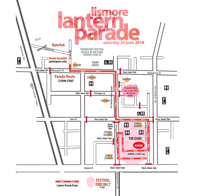 parade route for website