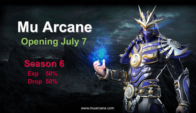 [Ad] Nuevo Mu Arcane Server | Season 6 | Exp 50x Drop 50% | Apertura 7 Muarcane