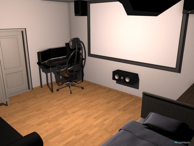 Zimmer mit Beamer 2 0