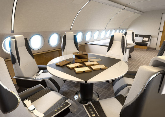 800x600 1397453545 Airbus ACJ319 Elegance Conference Dining