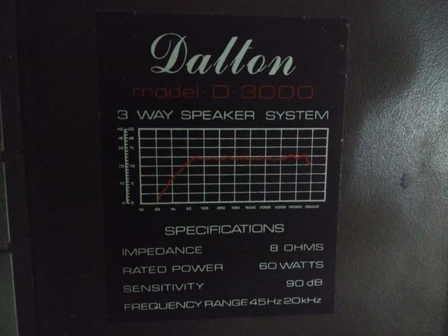 Altavoces Dalton Dalton