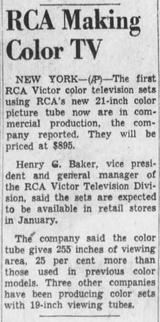 Detroit Free Press Mon Dec 6 1954