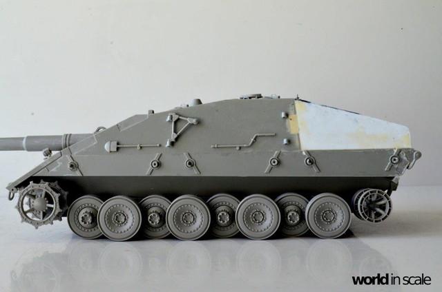 Jagdpanzer E-100 - 1/35 of Trumpeter 28616514_1003605309806984_7332773629507248364_o