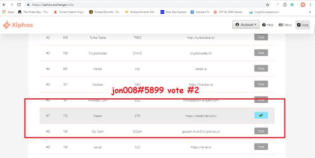 xiphos vote 2