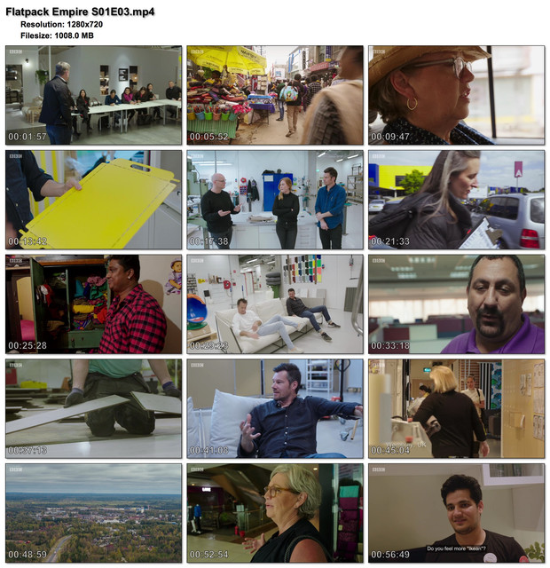 Flatpack Empire S01E03 (720p HD, soft Eng subs)