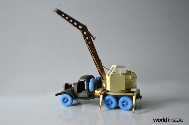 ZIL-157 + Bleichert-Crane - 1:35 by Trumpeter, ... 25188896_954753701358812_8512285098797640093_o