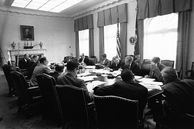 ST A26 25 62 29 October 1962 Executive Committee of the National Security Council meeting Clockwise