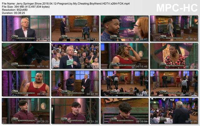 Jerry Springer Show 2018 04 12-Pregnant by My Cheating Boyfriend HDTV x264-FOX mp4